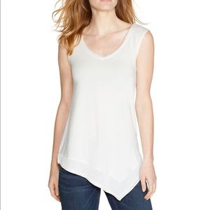 WHBM ivory colored tank top